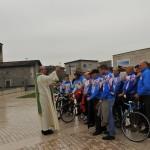 Aido Ciclistica - Benedizione di Don Manuel Beghini