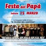 Locandina della festa del papà 2014