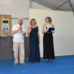 Presidente Aido Grassobbio Everardo Cividini, Tiziana Manenti e Emanuela Sdraulig