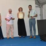 Tiziana Manenti, Presidente Aido Grassobbio Everardo Cividini, Emanuela Sdraulig e il vice sindaco Diego Rota