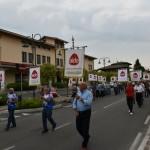 2015.06.14 40° Aido Grassobbio - Via Amerigo Vespucci presso Municipio - Mario Passetti, Ambrogio Passetti e Piero Vavassori