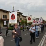 2015.06.14 40° Aido Grassobbio - Via Amerigo Vespucci presso Municipio - omaggio degli Alfieri