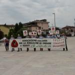 2015.06.14 - 40° Aido Grassobbio - Via Papa Giovanni XXIII - arrivo corteo presso la chiesa Santa Famiglia di Nazaret