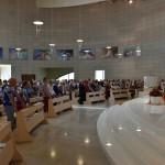 2015.06.14 - 40° Aido Grassobbio - Via Papa Giovanni XXIII - interno Chiesa Santa Famiglia di Nazaret