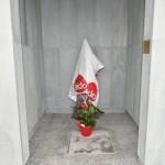 2015.06.14 - 40° Aido Grassobbio - Via Papa Giovanni XXIII  - al Cimitero - fiaccola prima dell'inaugurazione