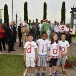 2015.06.14 - 40° Aido Grassobbio - Via Papa Giovanni XXIII  -  al monumento degli Alpini - intervento del Pres. Aido Grassobbio Everardo Cividini