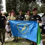 2015.06.14 - 40° Aido Grassobbio - Via Papa Giovanni XXIII  -  Paracadutisti  Val Cavallina