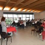 2015.06.14 - 40° Aido Grassobbio - Via Papa Giovanni XXIII  -  Sala della Comunità -  intervento Pres. Aido Provinciale di Bergamo rag. Monica Vescovi