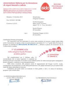 15dic2015 CONCORSO AIDO Scuola elementare di Grassobbio