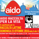 Raccolta Lattine 2016